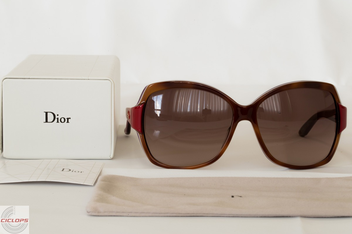 556647f0e óculos solar dior zaza1 100% original prada feminino sol. Carregando zoom.