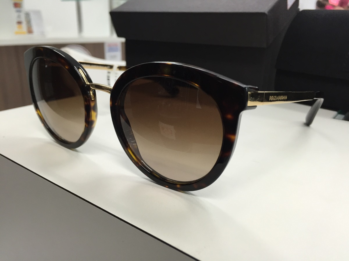 Oculos Solar Dolce   Gabbana Dg 4268 502 13 52 Made Italy - R  829 ... cb884a1d09