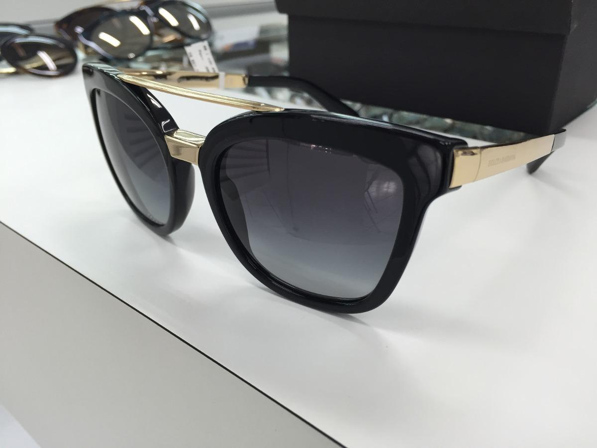 Oculos Solar Dolce   Gabbana Dg 4269 501 8g 54 Made Italy - R  859 ... 6fe2ad0ba1