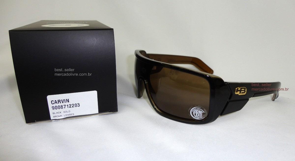 0b597d456 Óculos Solar Hb Carvin Black Gold (preto E Marrom) - R$ 245,00 em ...