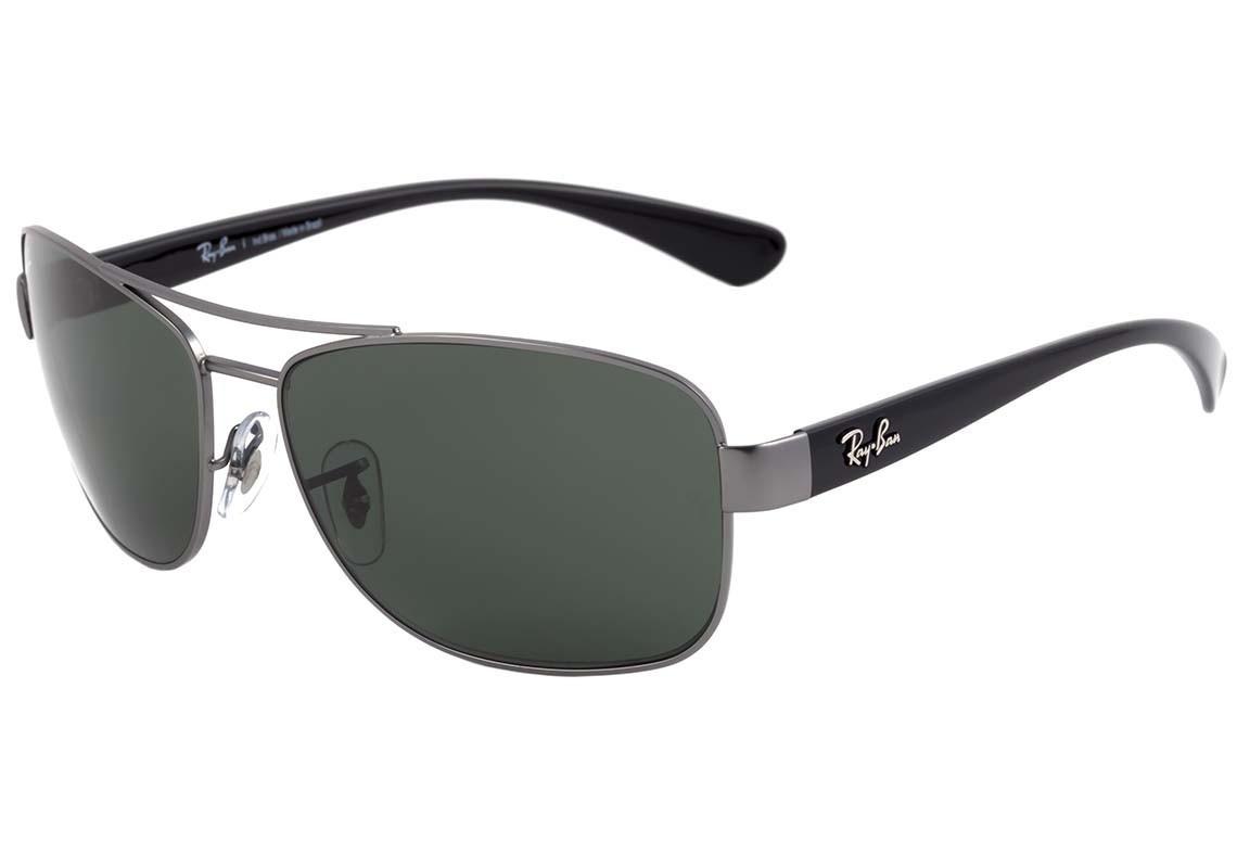 310158b7ef7cd Óculos Solar Masculino Ray Ban Rb 3518 029 71 - Original - R  369