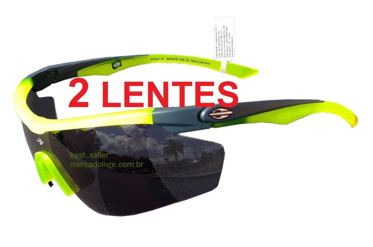 320cae280 Óculos Solar Mormaii Athlon 3 Ciclismo 2 Lentes - R$ 329,00 em ...