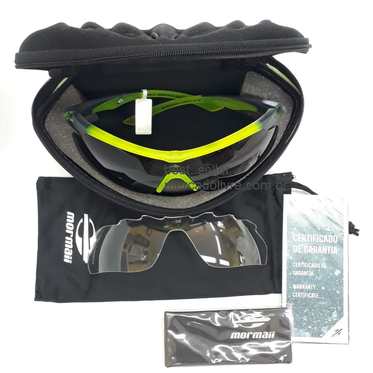 Óculos Solar Mormaii Athlon 3 Ciclismo 2 Lentes - R  329,00 em ... 5d5c80495a