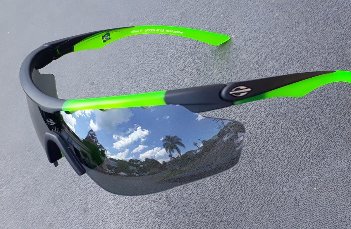 óculos solar mormaii athlon 3 espelhado ciclismo 2 lentes. Carregando zoom. c2129eb875