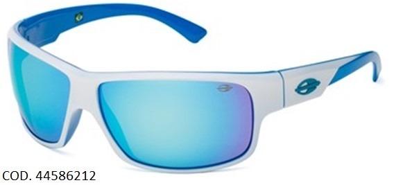 Oculos Solar Mormaii Joaca 2 44586212 Branco Azul Espelhado - R  169 ... 0fbc3f8fe9