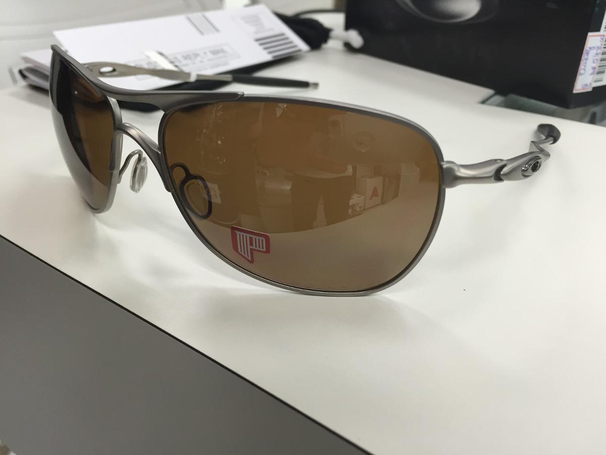 oculos solar oakley crosshair ti polarizado oo6014-01 origin. Carregando  zoom. 57ea808b29