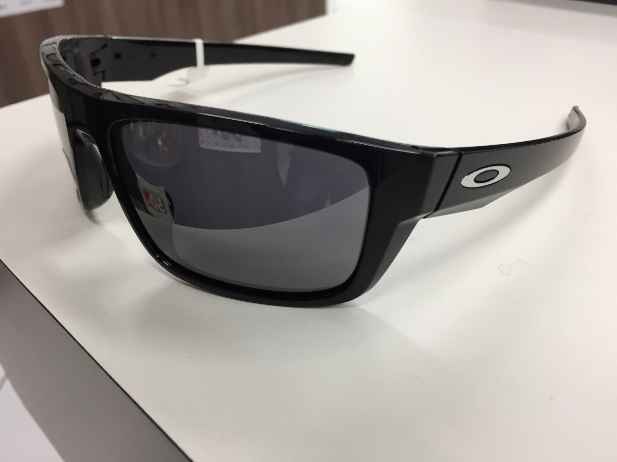 dedca18a5a oculos solar oakley drop point oo9367 0260 polished black. Carregando zoom.