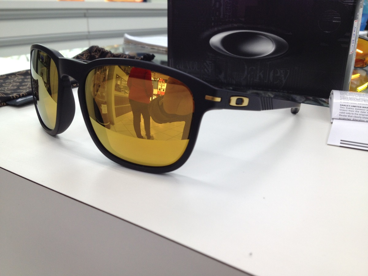 95eec9da91efd oculos solar oakley enduro 009223l-04 iridium 24k origi. Carregando zoom.
