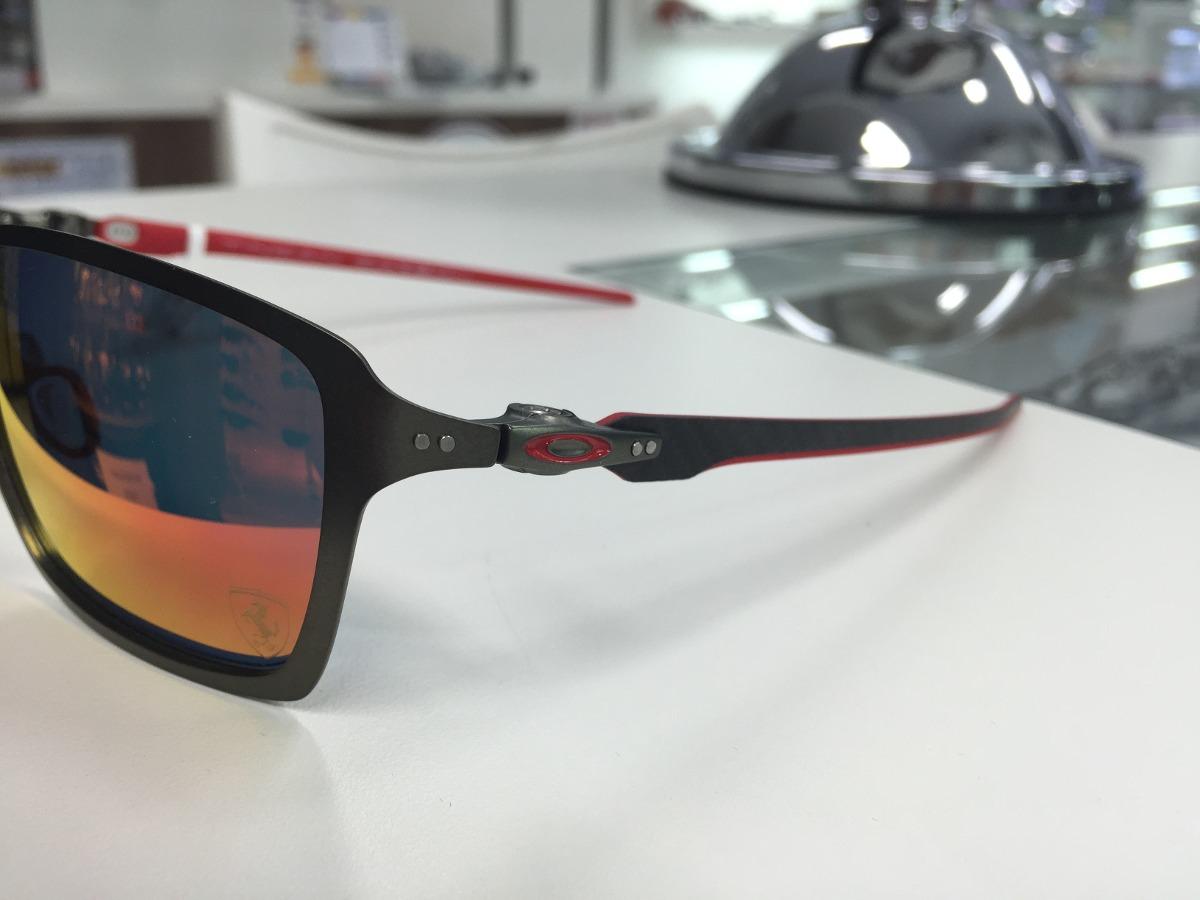 oculos solar oakley ferrari tincan carbon 006017-07 original. Carregando  zoom. c7cb0c5a2c