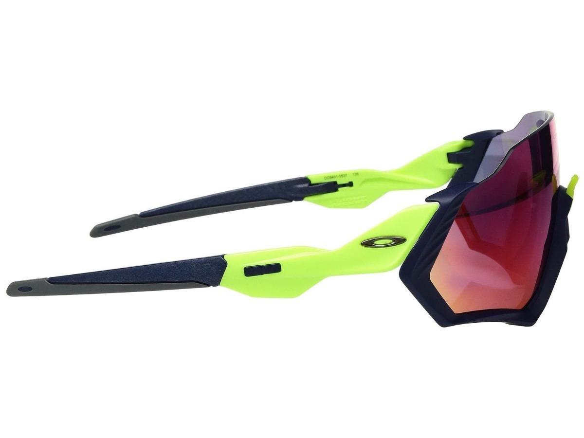 6a81eefd42e6c Oculos Solar Oakley Flight Jacket Oo9401 0537 Prizm Road - R  679