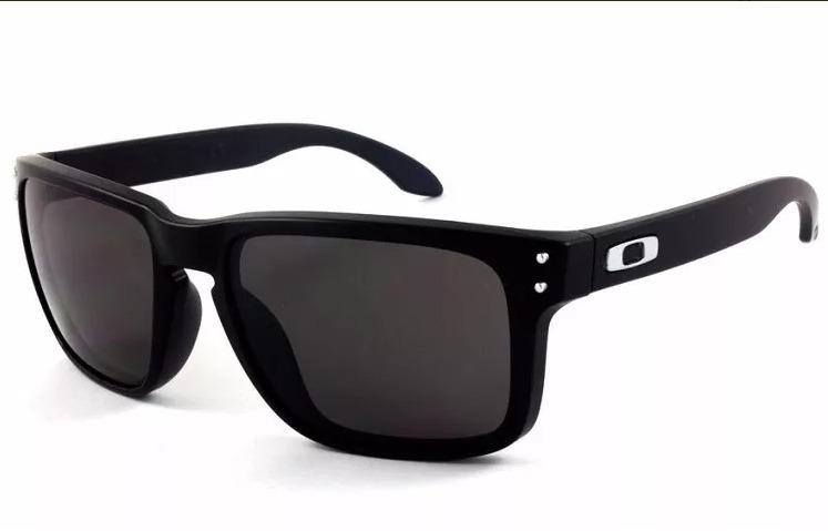 Oculos Solar Oakley Holbrook 910201 Preto Fosco - Original - R  349 ... e71d957418