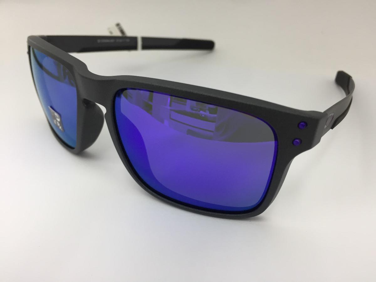 oculos solar oakley holbrook mix steel violet iridium oo9384. Carregando  zoom. 47a33c94ff