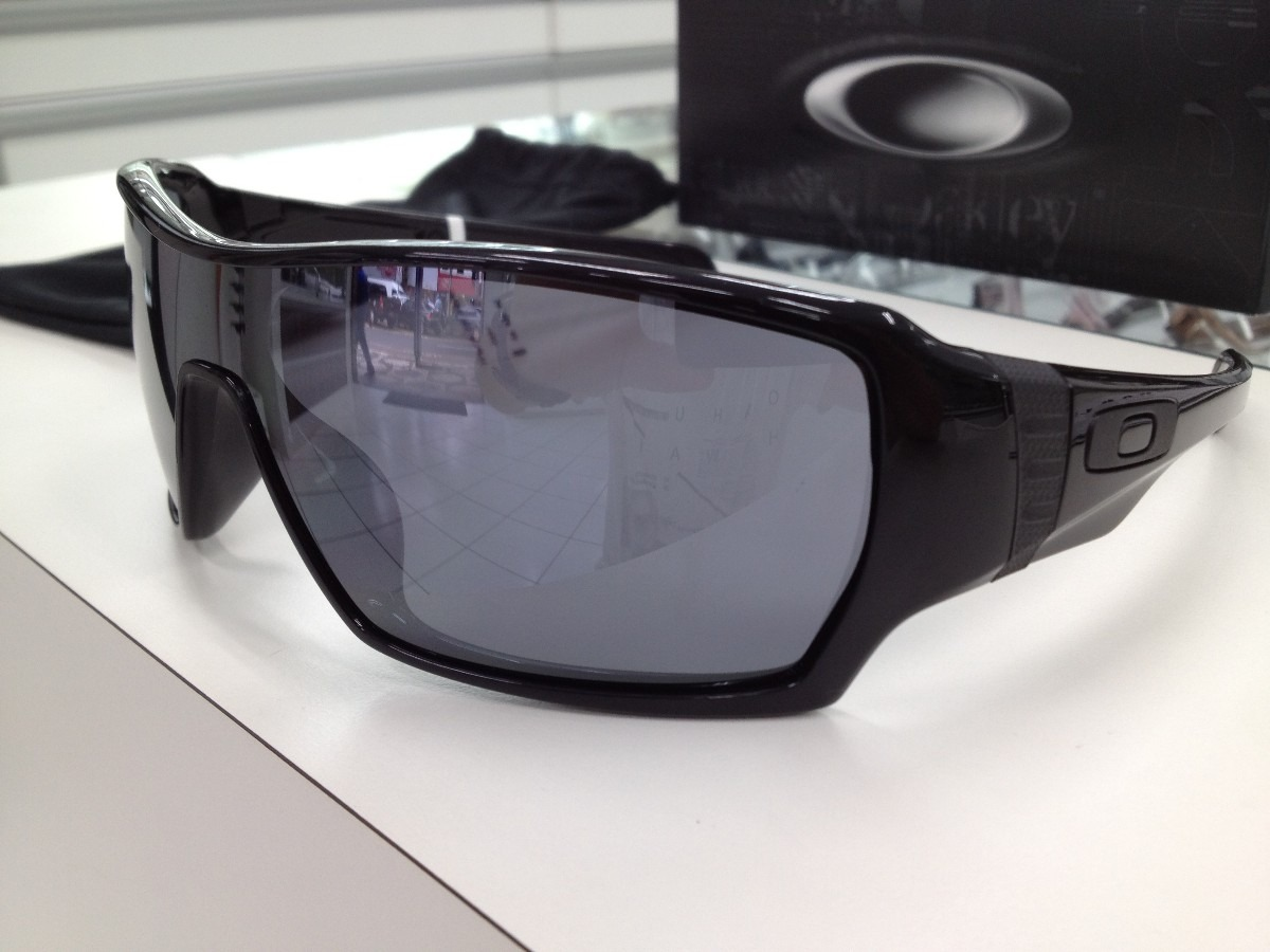 Oculos Solar Oakley Offshoot 009190-03 Preto Brilho - R  439,99 em ... 40111ee247