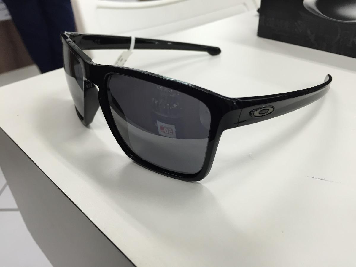 ae3c20234d964 Oculos Solar Oakley Sliver Xl Oo9341-05 57 Polished Black - R  449 ...