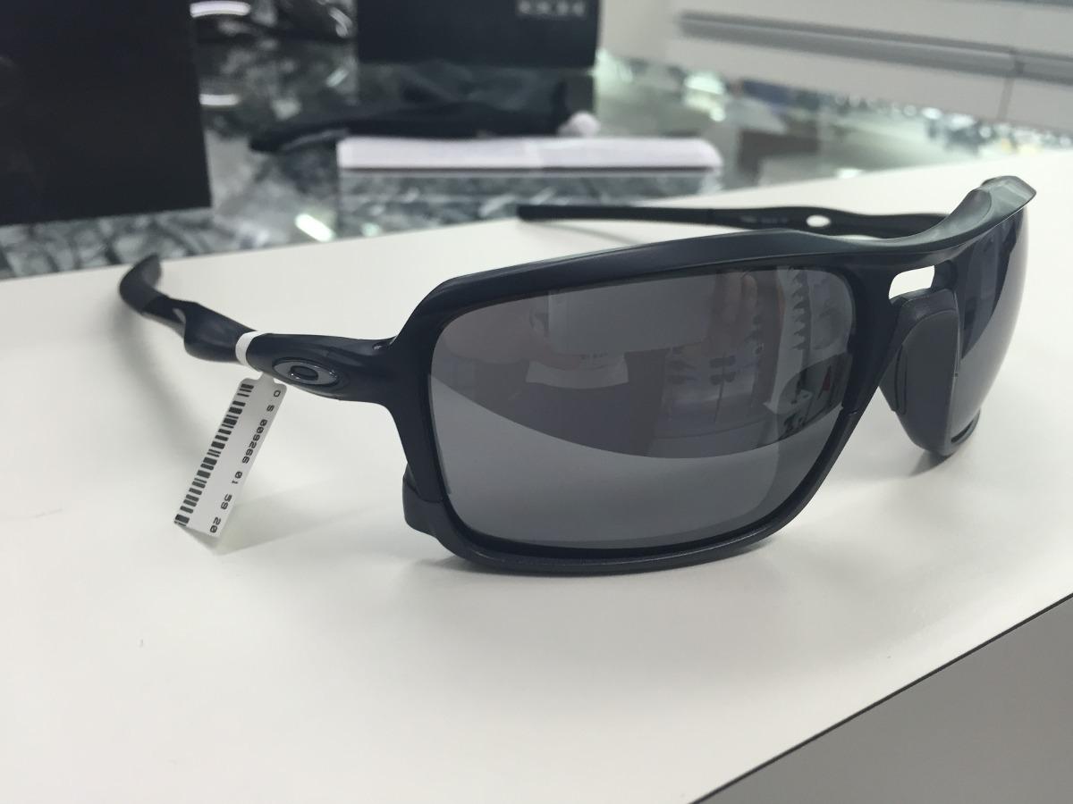 79d2da5a7 oculos solar oakley triggerman oo9266-01 original pronta ent. Carregando  zoom.