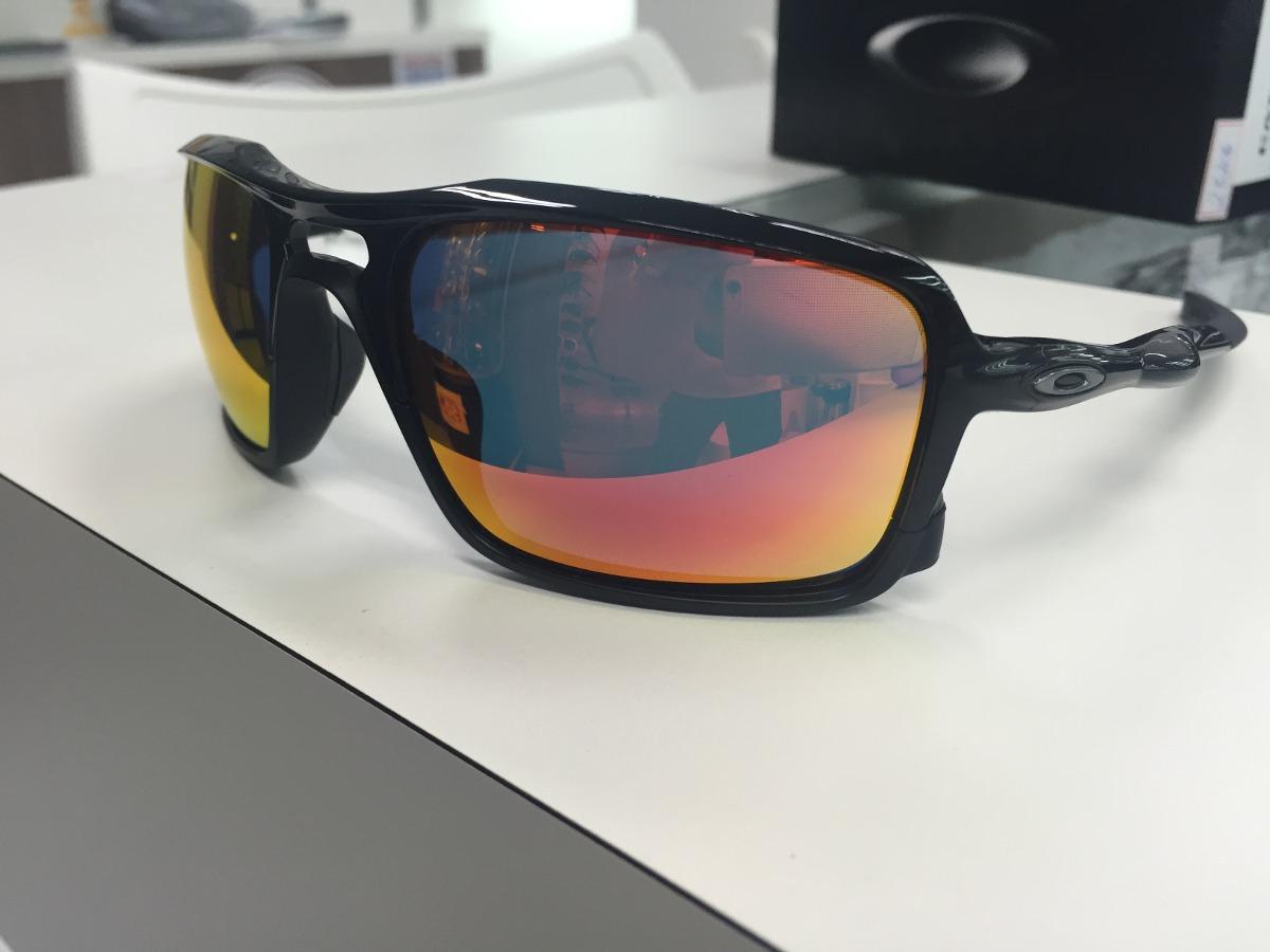 90c5e30477659 oculos solar oakley triggerman oo9266-03 original pronta ent. Carregando  zoom.