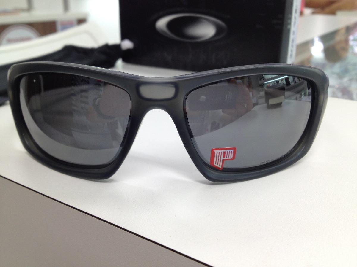 oculos solar oakley valve polarizado 009236-06 matte grey sm. Carregando  zoom. f614411157
