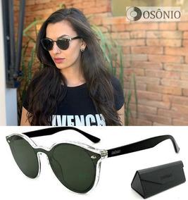 06b9316aa Oculos De Sol Feminino Lente Transparente - Óculos no Mercado Livre ...