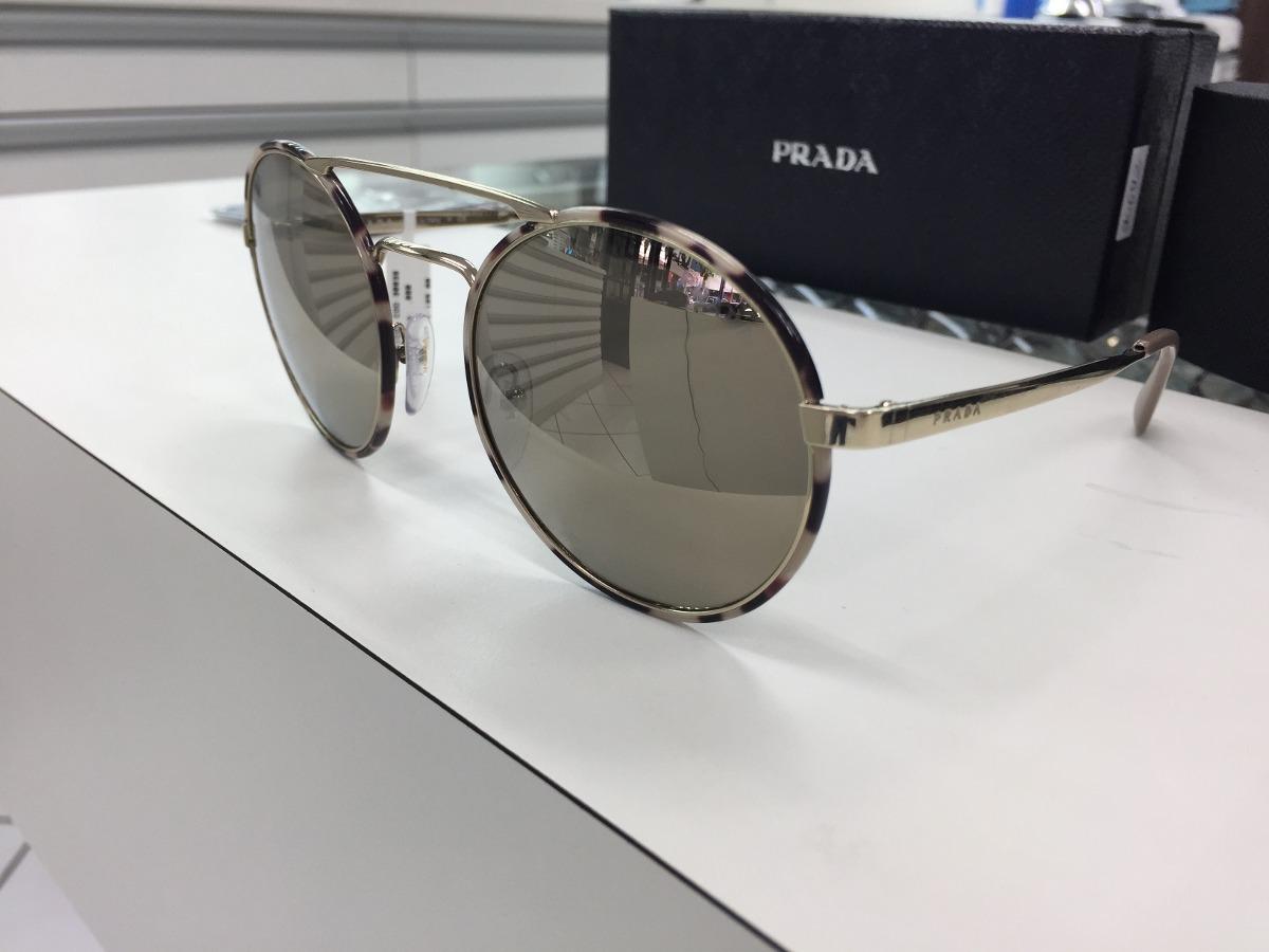 0f36e5ea0c5fc Oculos Solar Prada Spr51s 54 Uao-1c0 Original P. Entrega - R  879
