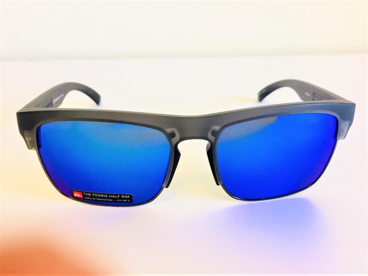 accdd05c40bd1 óculos solar quiksilver the ferris grafite azul espelhada. Carregando zoom.
