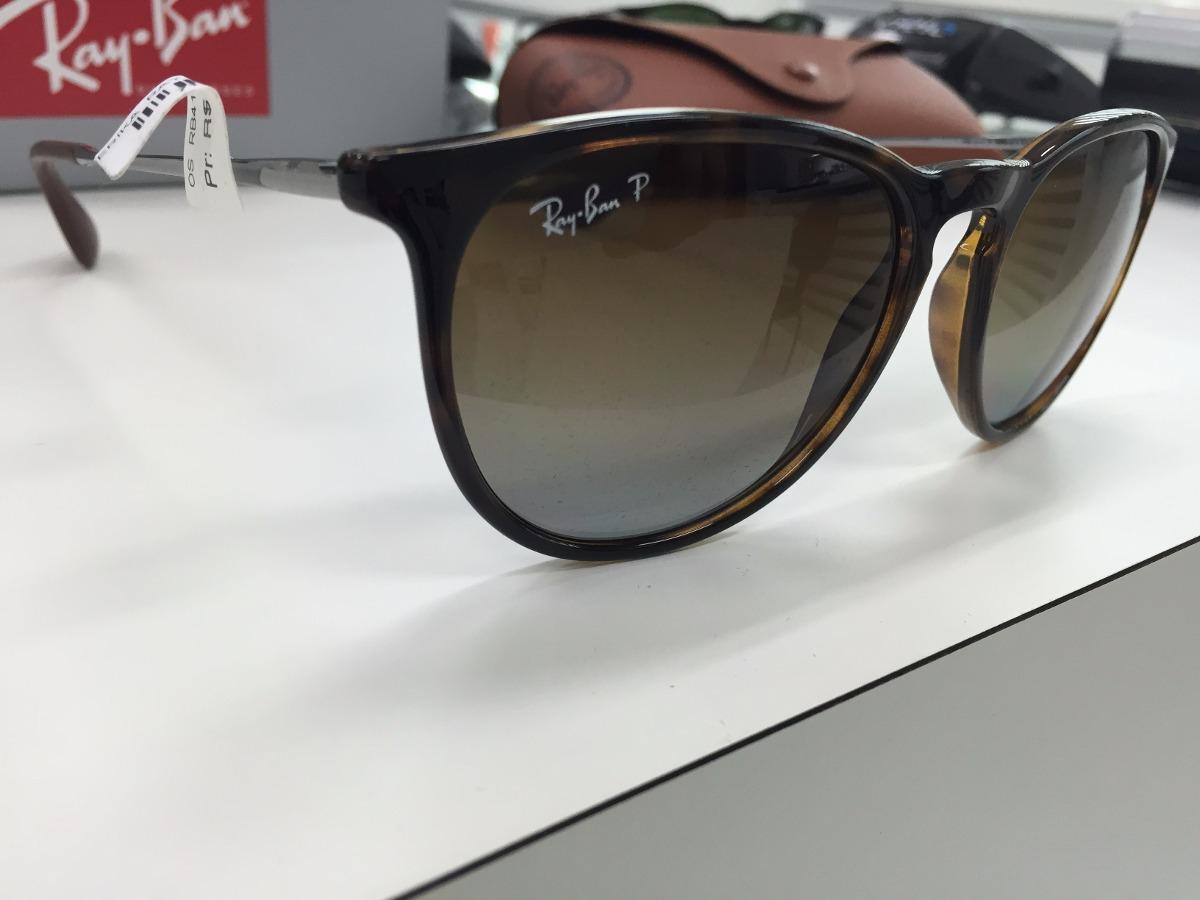 6da8ddaaa4e3b Óculos De Sol Ray-Ban Erika no Mercado Livre Brasil ray ban erika veludo  polarizado