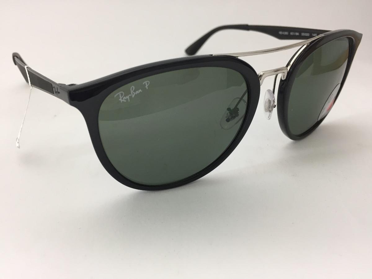 Oculos Solar Ray Ban Polarizado Rb4285 601 9a 55 Original - R  579 ... f5cffde518