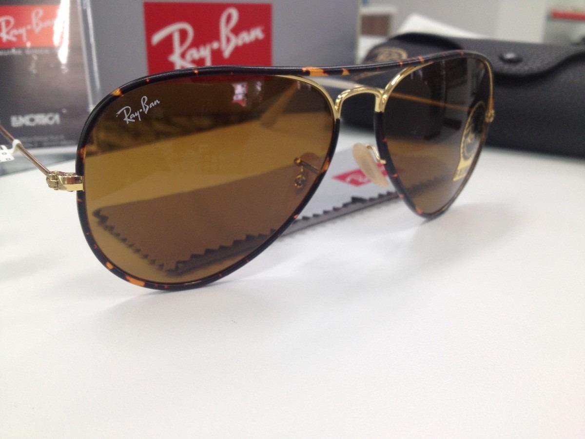Oculos Solar Ray Ban Rb 3025 -j-m Aviator Full Color - R  459, cd9c377a09