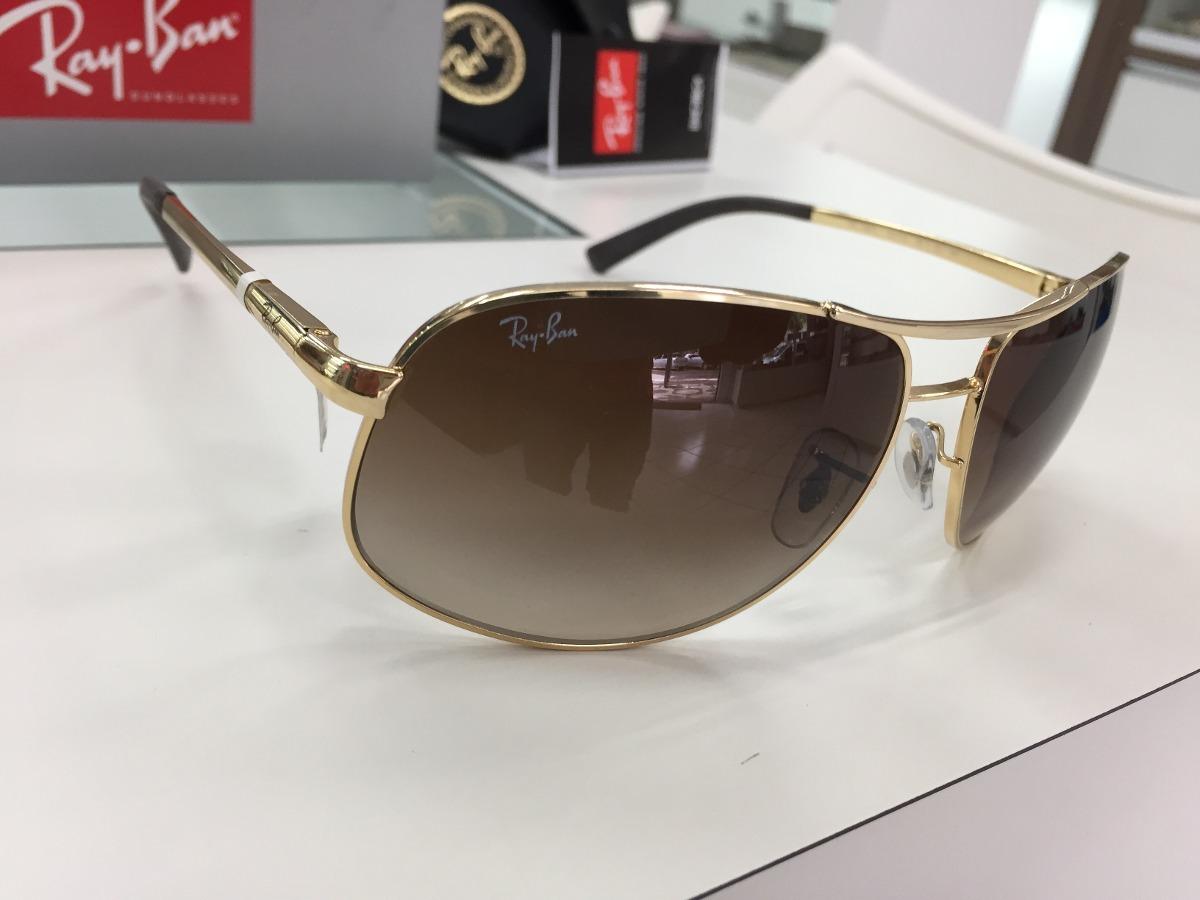 oculos solar ray ban rb 3387l 001 13 67 original p. entrega. Carregando  zoom. 3a6cce30db
