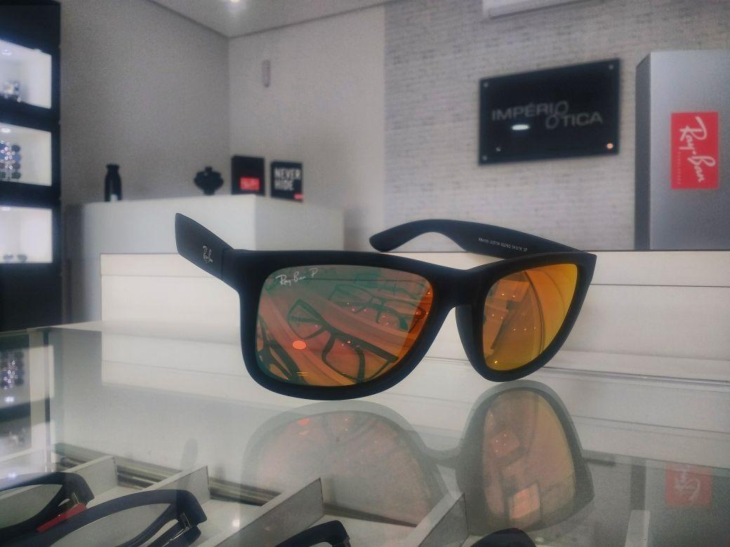 98842cc4f41f7 oculos solar ray ban rb 4165 justin 622 6q 54 original. Carregando zoom.