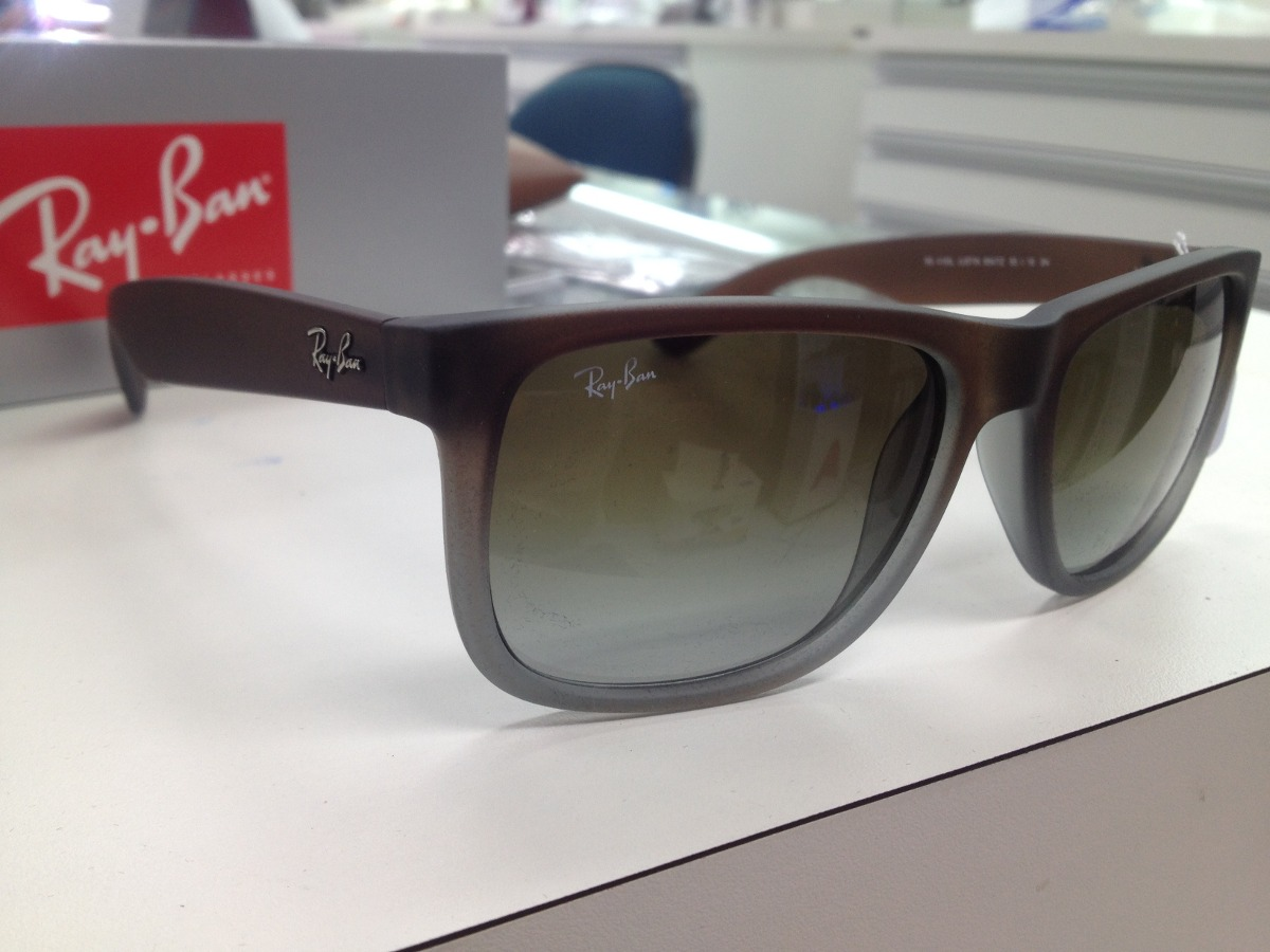 oculos solar ray ban rb 4165l justin 854 7z original pronta. Carregando  zoom. bb3fee92b3