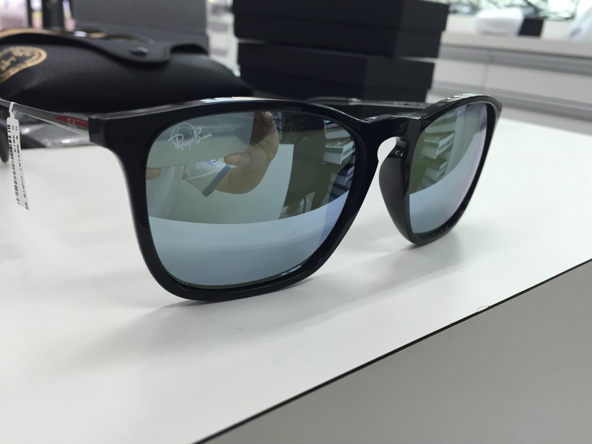 oculos solar ray ban rb 4187l chris 601 30 54 made in brazil. Carregando  zoom. e7c101d278