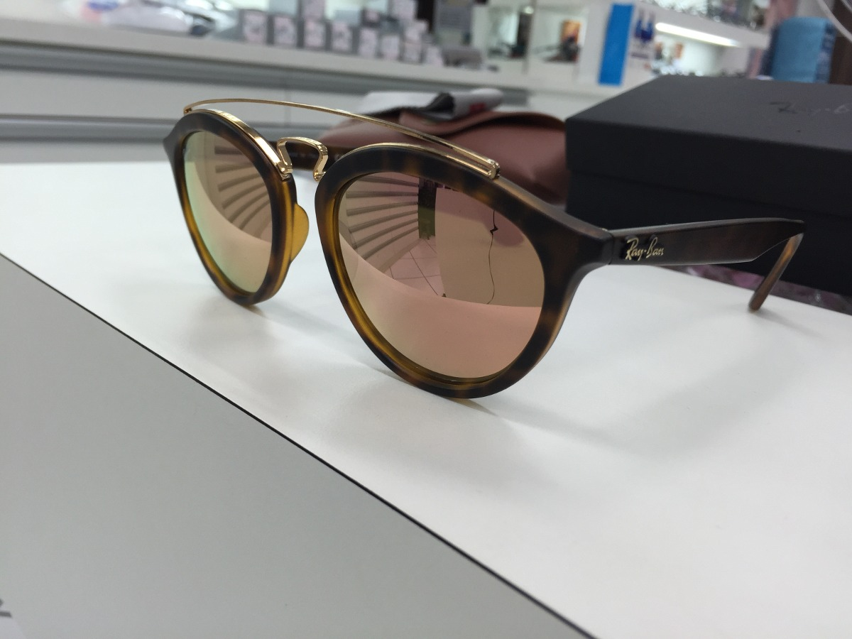 oculos solar ray ban rb 4257 6092 2y 53 new gatsby original. Carregando  zoom. db5ce6f8d4