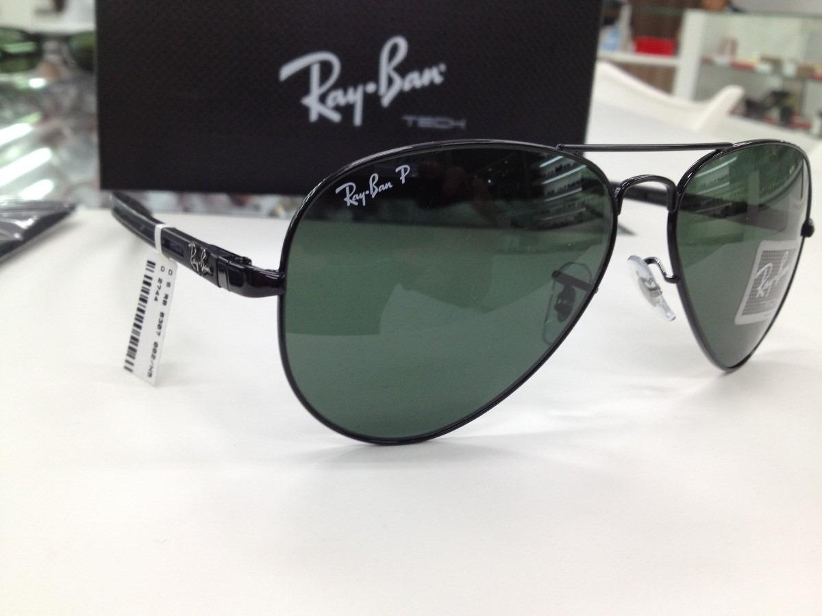 6ee27b2532b99 ... new style oculos solar ray ban rb 8307 002 n5 58 polarizado aviator. carregando  zoom