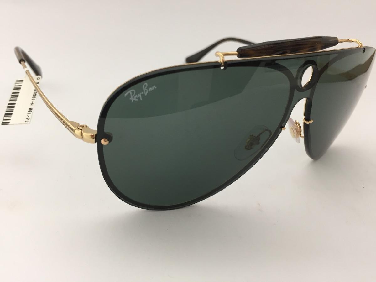 6bb4b9c2b43a8 oculos solar ray ban rb3581-n 001 71 140 blaze collection. Carregando zoom.