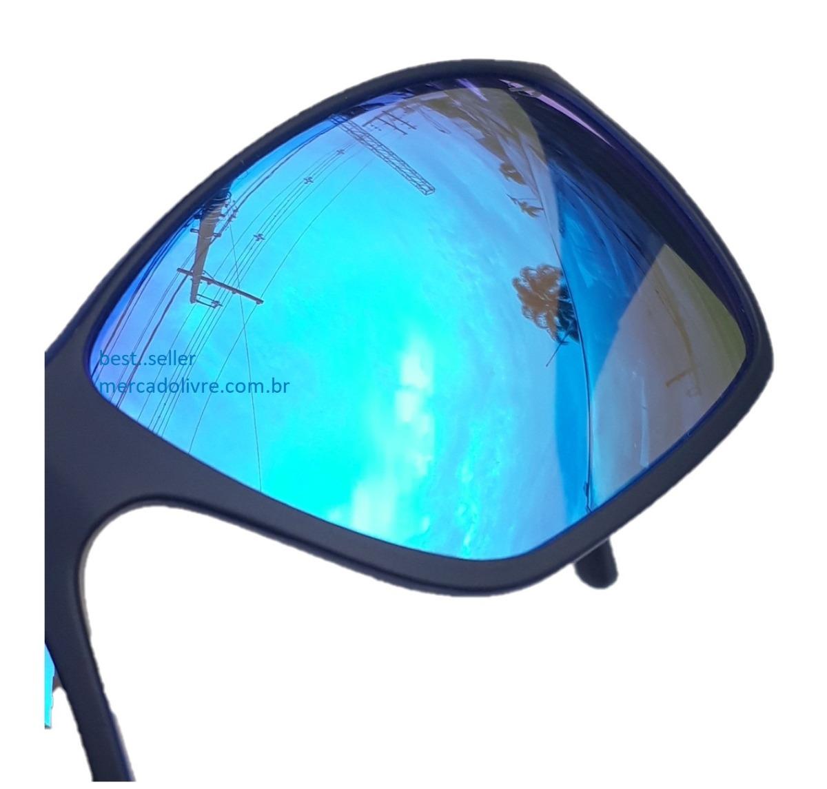 Óculos Solar Sol Mormaii Joaca 3 Preto Espelhado Azul - R  279,00 em ... 8111cd8381