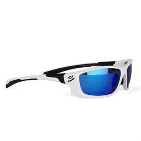 c3340096c Oculos Spiuk Aqus Uci Branco Azul Espelhado Uv400 Mtb - Ciclismo no Mercado  Livre Brasil
