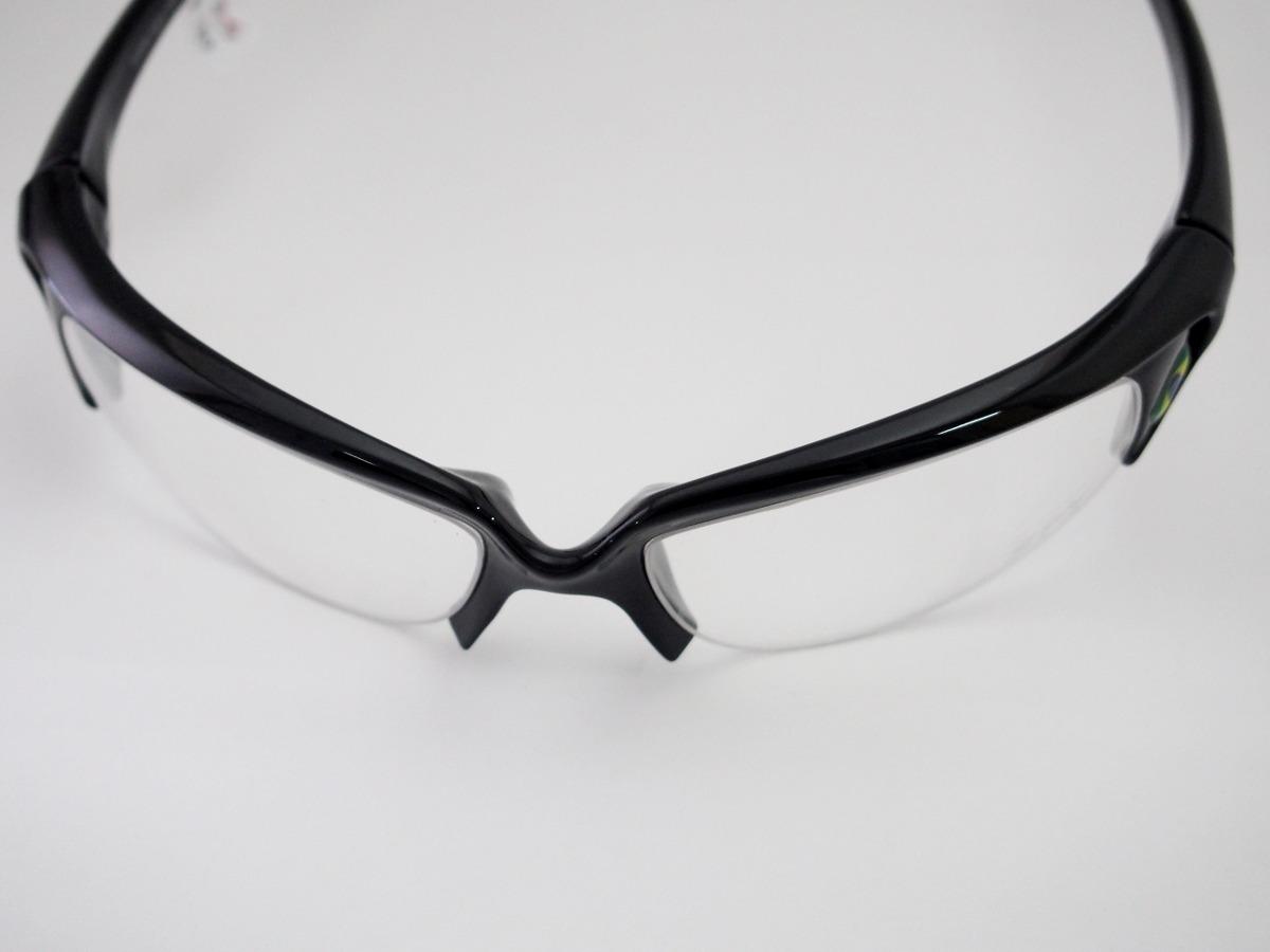 703263e2b1a2f Armação Para Óculos Spy Esportivo Curvado Preto 50 Mmx - R  149