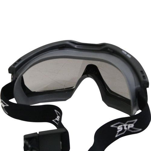 óculos srx g520 militar escuro teste balístico motocross