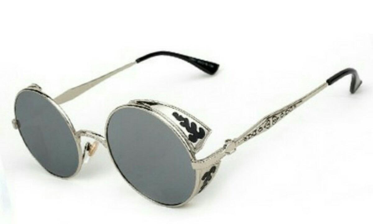 432a06b140fba óculos steampunk cor prata lente espelhada pronta entrega. Carregando zoom.