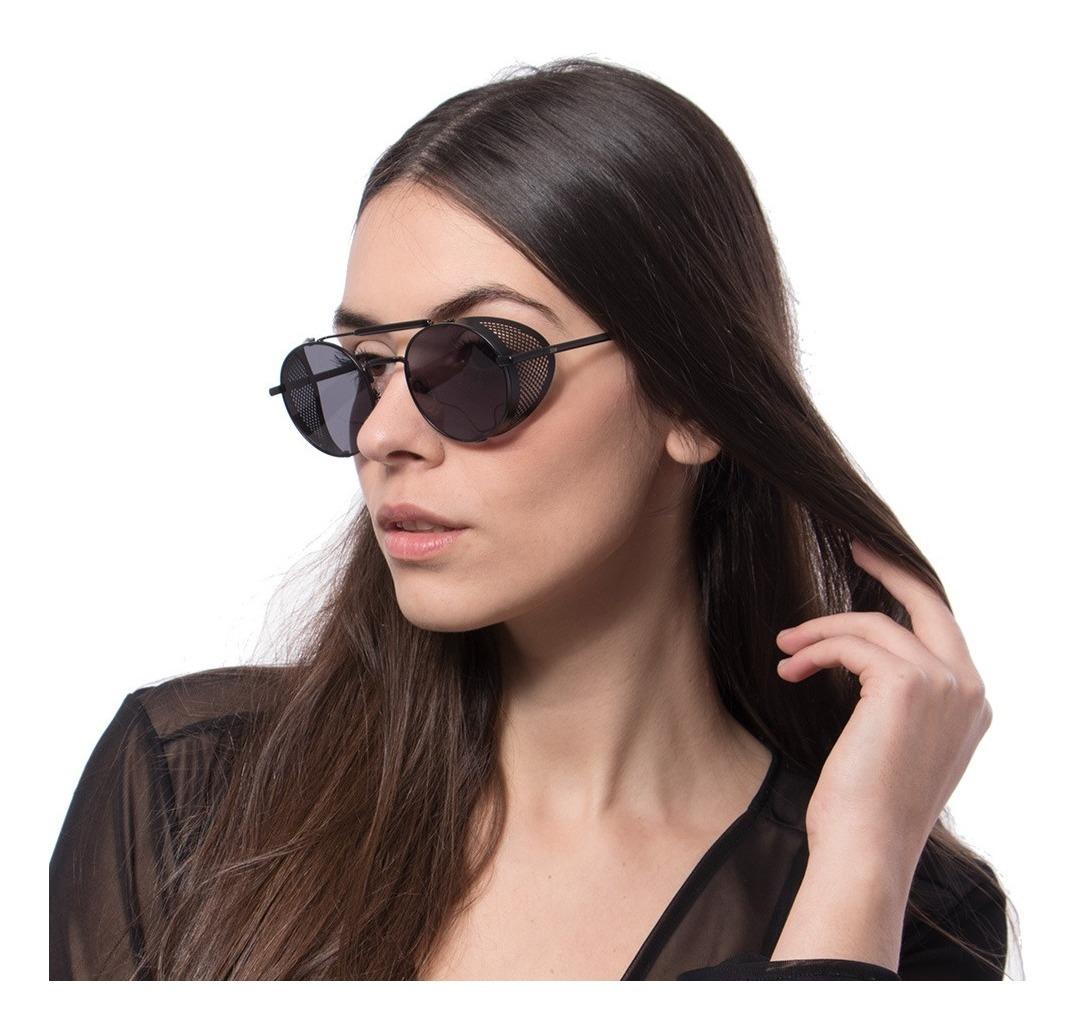 Oculos Steampunk Zoe Sol Masculino Feminino Alok Uv400 Case - R ...
