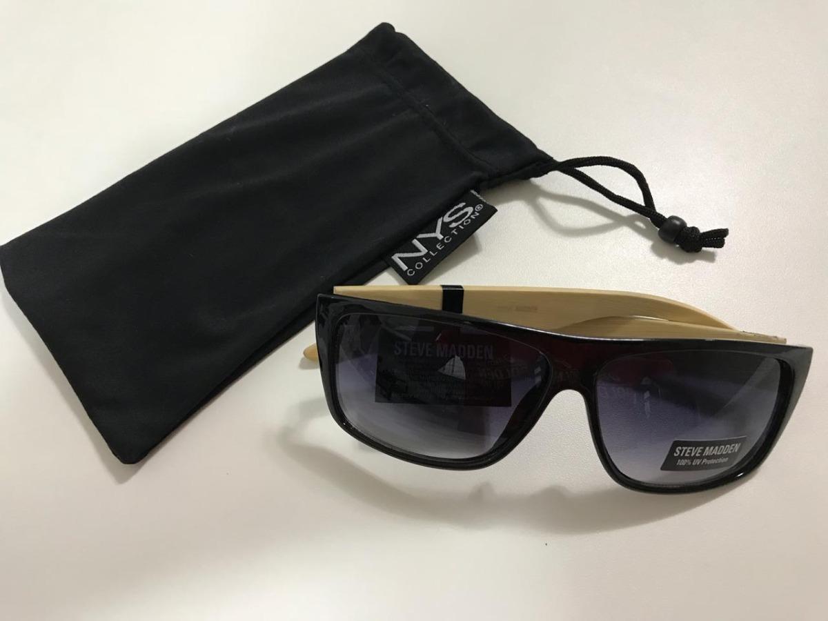c602e240f Óculos Steve Madden Masculino - 100% Uv - R$ 200,00 em Mercado Livre