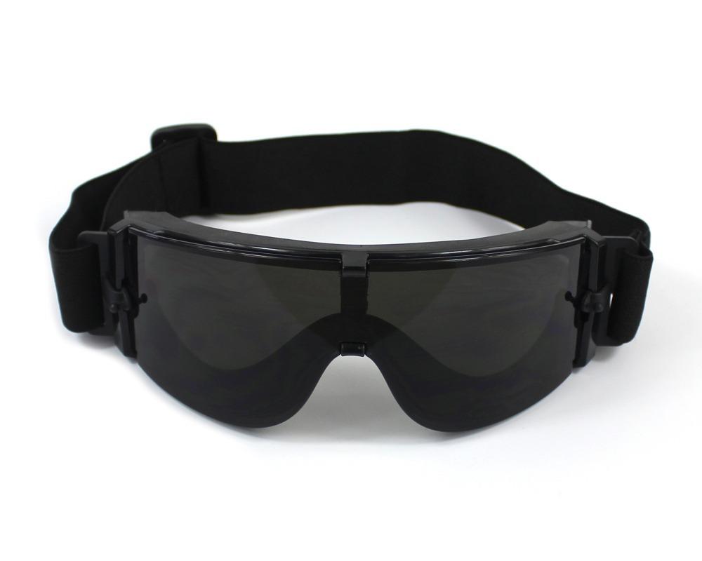 óculos tático 3 lentes x800 airsoft paintball + brinde. Carregando zoom. 7a2f2e5861