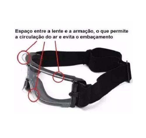 Óculos Tático C 3 Lentes X800 - Militar Airsoft   Paintball - R  142 ... 66fc49a167