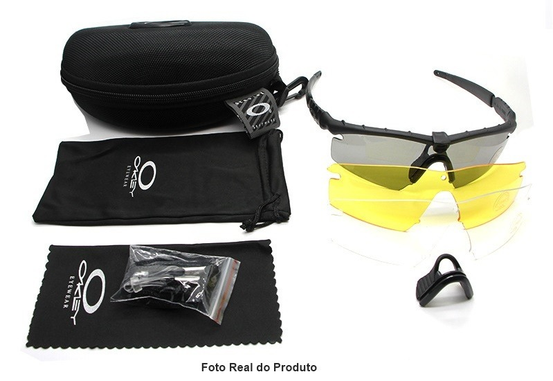 30fce0eed Óculos Tatico Oakley Si Ballistic M Frame - A Pronta Entrega - R ...