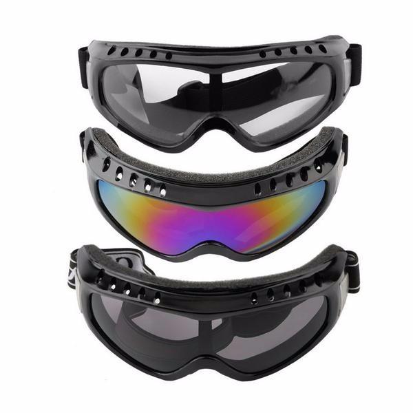 Óculos Tático Proteção Paintball Motocross Airsoft Ciclista - R  33 ... 24d63c6bc1