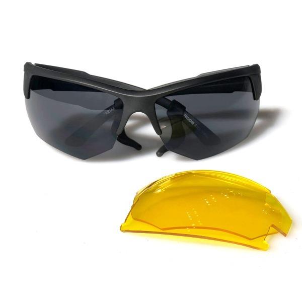 53fb2c57e7 Óculos Tático Spartan Marcos Do Val Lente Amarela Caqui - R$ 179,00 ...