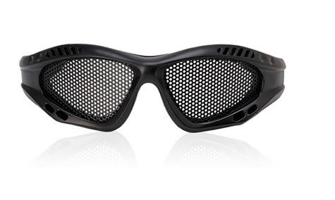 a071451bd54ea Óculos Telado De Proteção Tático Airsoft Metal  preto  - R  29,89 em ...