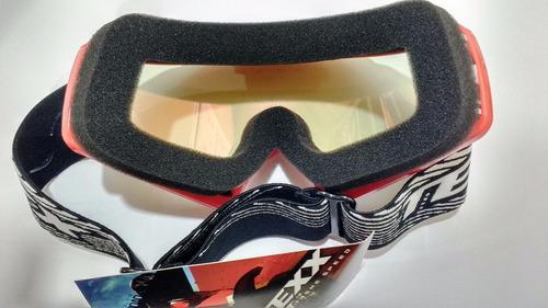 óculos texx fx-4 lente iridium vermelho