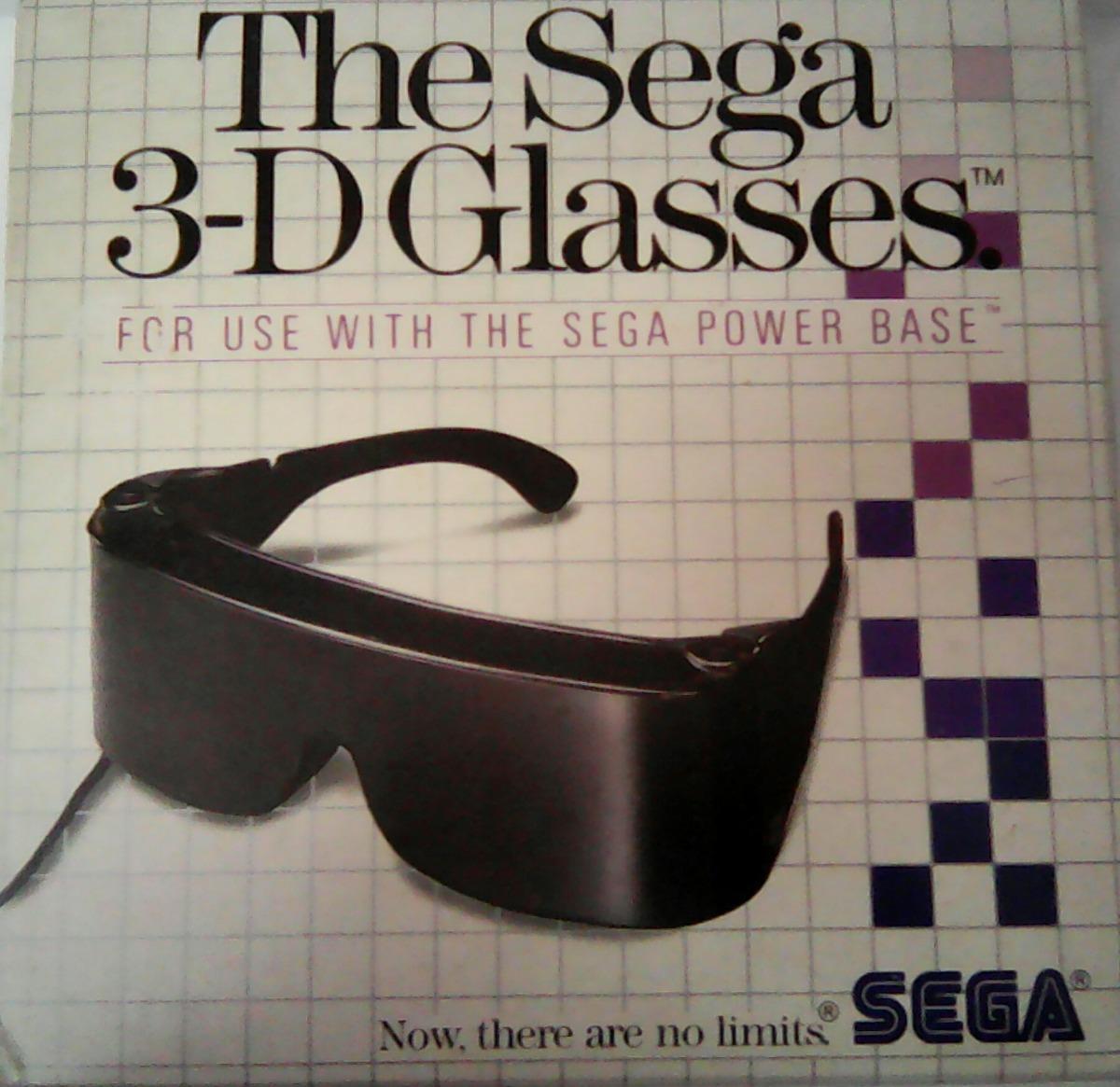 234987181677d oculos the sega 3d glasses sega tec toy master system. Carregando zoom.