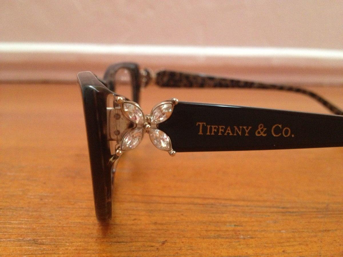 b1e0c837664ab Carregando zoom... armação de óculos tiffany   co. acetato preto com azul  onça